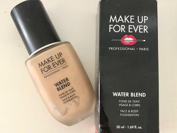 Make up for ever water blend visage et corps fond de teint