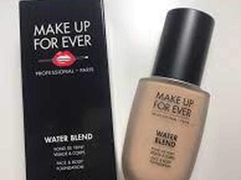 Make up for ever water blend visage et corps fond de teint